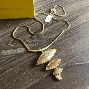Kendra Scott Necklace Gold and Rose Gold NWT